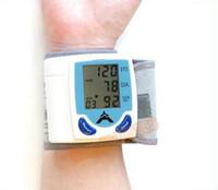 Wholesale Digital Wrist Blood Pressure Monitor Heart Beat Meter LCD Display