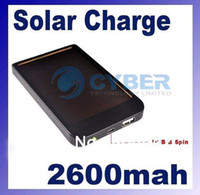 Wholesale Solar Charger for Phone MP3 MP4 IPAQ Digital camera with usb cable and charge retail box