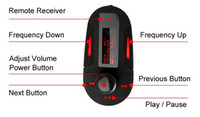 Wholesale Car MP3 Player Wireless FM Modulator Transmitter With USB SD MMC Slot