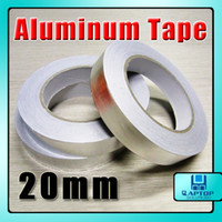 Wholesale 20mm x m Resist Heat Shield Adhesive Aluminum Effect Pedal Foil EMI Foil Duct Tape x