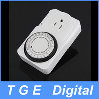 Wholesale 24 Hour Time Switch Program Plug in Duty Appliance Mechanical Timer Contractor US Plug