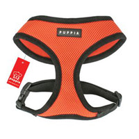 Wholesale Korean brands PUPPIA pet harness with breathable hollow without strangulation EMS free shi