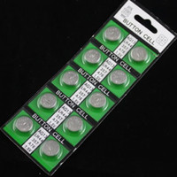 Wholesale High quality LR44 Button cell AG13 Calculator battery watch battery card