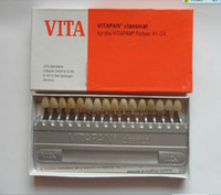 Wholesale Dental materials VITA D color shade guides for Resin teeth