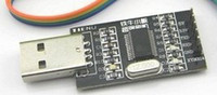 Wholesale PL2303HX USB to TTL Serial pport Converter Module V amp V Output