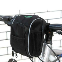 Wholesale NEW Cycling Bike Bicycle Handlebar Bag Front Basket with Rain Cover