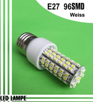 Wholesale New W E27 SMD LED Spot Light Bulb Lamp Corn light LED bulb lamp LED lighting V Pure White