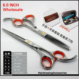 hairdressing scissors Hair Scissors Professional Scissors Barber scissors 6.0 INCH Hairdressing scissors 1SET/LOT NEW
