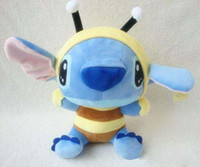 Wholesale Retail New brand Stitch BEE Plush Doll Toys kids toys cartoon doll Blue