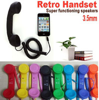 Wholesale Retro Handset Smooth mobile phone handset for with answer key and volume control button mm