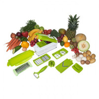 Peelers & Zesters Metal Stocked Nicer Dicer Plus Chopper Slicer Food Masher Salad Grater Vegetable Shredder 24sets lot