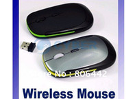 Wholesale NEW mini Thin m GHz USB Optical Wireless Mouse For PC Laptop