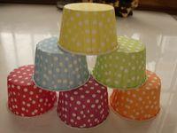 Wholesale 300pcs Medium little round white cake cups cupcake cases Baking Cups cm cm