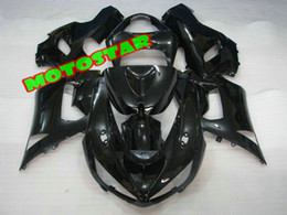 All Black bodywork fairing kit FOR Kawasaki Ninja ZX6R 636 2005 2006 05 06 ZX 6R 05-06