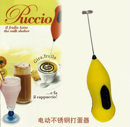 Wholesale Electric Automatic Kitchen Stainless Steel Rod Coffee Milk Drink Mixer Stirrer Eggbeat gift