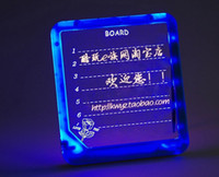 Wholesale Led message board led Advertising display board with Highlighter fluorecent LED Writing Board gifts