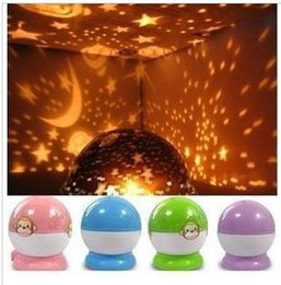Wholesale 2016 new Rotary USB Projector Night Light Lamp Christmas children kid boy girl Gifts Toy