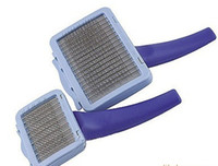 Large Easy2Clean Grooming Brush with Rotating head & Qui...