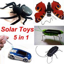 Wholesale Solar Car Cockroach butterfly Grasshopper Spider in Solar and Salt Water Hybrid Car