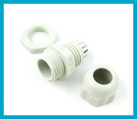 10pcs lot Waterproof Connector PG9 Cable Gland free shipping