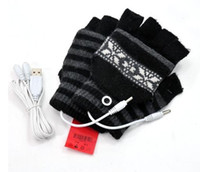 Wholesale NEW christmas usb warmer Gloves warmer Gloves usb Gloves