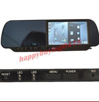 Wholesale 4 inch rearview monitor with GPS Navigation Functi can use with parking sensors camera VD B