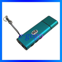Wholesale 4GB telephone recording device with MP3 player U disk recording voice recorder USB stereo recording