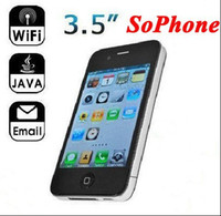 Wholesale 3pcs inch Multi Touch Capacitive Screen Single SIM WIFI Build in GB SoPhone