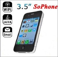 Wholesale 4pcs inch Multi Touch Capacitive Screen Single SIM WIFI Build in GB SoPhone