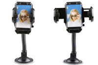 Wholesale Universal Rotatable Suction Cup Swivel Mount Car Windshield Holder Cradle with Photo Frame for Cell