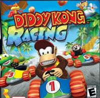 Wholesale Hot sell Diddy Kong racing Games For DS DSi DSiXL LL DS Console Sealed Box Yangze