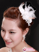 Wholesale Bridal Tiaras amp Hair Accessories Fascinator Flower Head Flower Bridal Accessories lt gt yds