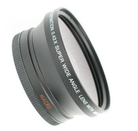 Wholesale 67mm x Super Wide Lens with Macro for Canon D HD Digital SLR Pro Lens