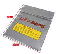 Wholesale RC Fireproof Lipo Li Po Battery Safety Guard Charge Bag safe x mm