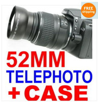 Wholesale 52mm x TELEPHOTO Lens FOR NIKON D3100 D5100 D90 D60 D40