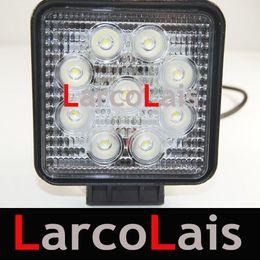 """4"""" inch 27W 12V & 24V LED Fog Work Working Light Lamp Offroad Spot Flood Car White Super Bright"""