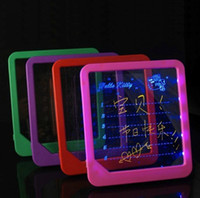 Wholesale LED Message Board Erasable Fluorescent Writing Board LED Advertising Board Whiteboard womens world