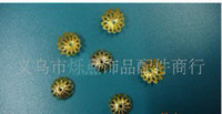 Wholesale Gold plated Torus Beads Caps Jewelry accessories for ring bracelet necklace new arrival hot sale trial order