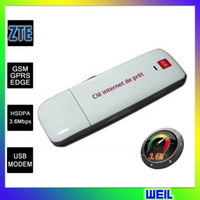 Wholesale Cheap Wireless G Modem USB2 G WCDMA ZTE MF626 by DHL or EMS WEIL
