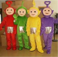 Unisex adult teletubbies costumes - Cute Teletubbies Costumes Mascot Adult Cartoon Mascot Performance Teletubbies Mascot Apparel
