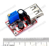 Wholesale 20 pieces Solar Boost Step Up USB Standard DC DC V V Adjustable Power Supply Module