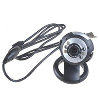 Wholesale 300KP LED USB Webcam Web Digital Camera Microphone for Computer PC amp Notebook Driver