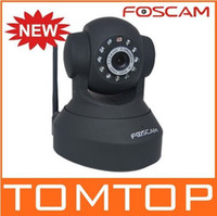 Wholesale Original Foscam FI8918W Wireless IP Camera Wifi Network IR LEDs NightVision CMOS Sensor Webcam Se