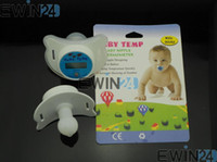 Wholesale Infant Baby Nipple Digital Binky Pacifier Thermometer measured easily in minutes New Good Quality