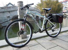 Mountain bike 21 speed double disk brake aluminium frame