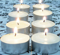 Wholesale Soy Paraffin Tea Light Candle Christmas X mas Valentine s Romantic Gifts Long Burn Time