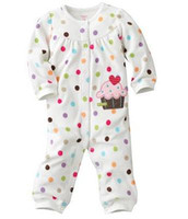 Wholesale First moments baby rompers pajamas infant jumpsuits outfits PJ toddler bodysuits onesies tops ZW699