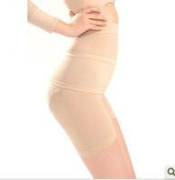 Doble aplastamiento adelgazamiento pantalón de cintura alta de la cadera los pantalones cortos de cintura (+) la ropa interior 50pcs / lot