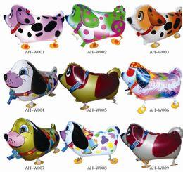 High Quality Cheap Walking Animal Balloon Inflatable Aluminum Walking Pet Balloon Christmas Decoration Children Toys Birthday Party Balloons