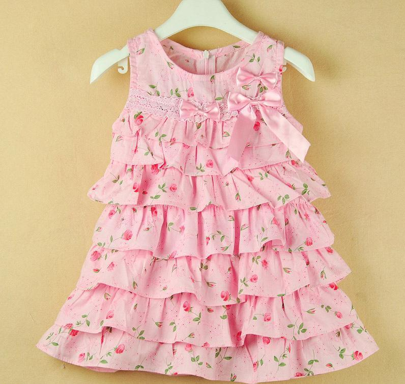 2017 Baby Casual Dress Girls Casual Dress Angel Dress Princess ...